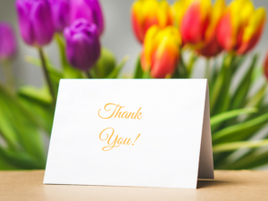Learn How to Write a Professional Thank You Note